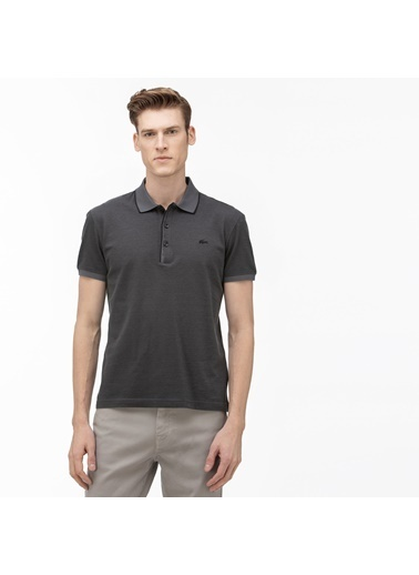 Lacoste Erkek Regular Fit Tişört PH0045.45D Gri